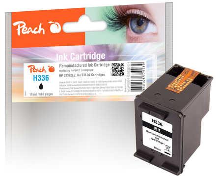 PI300-147 | Peach inkoustová náplň černá (black) - HP 336 refil