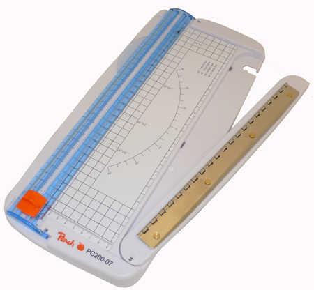 PC200-07 | Peach PEACH řezačka Multipurpose A4 (posuvná řezačka A4)