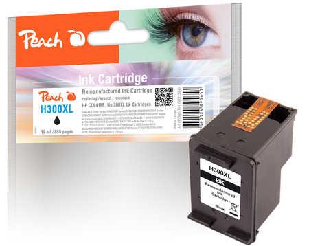 PI300-191 | Peach HP 300XL kompatibilní inkoustová náplň černá (black)