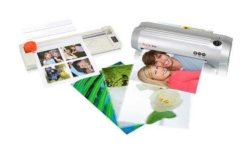 Peach foto set PBP100: laminátor PL713 + ruční řezačka papíru PC200-02