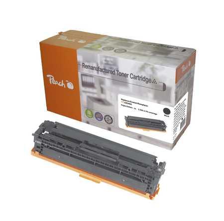 PT101 | Peach renovovaný černý toner kompatibilní s HP CB540A