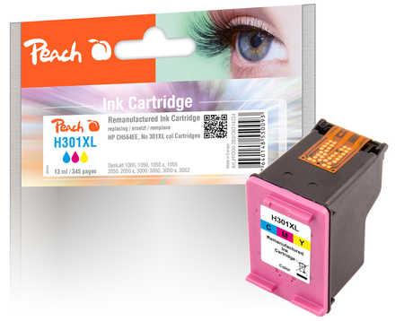 PI300-283 | Peach HP 301 XL CH564EE - inkoustová náplň barevná (color), REM, OEM