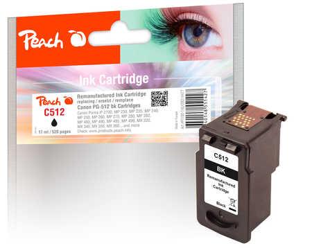 PI100-145 | Inkoustová náplň Peach, black, PG-512