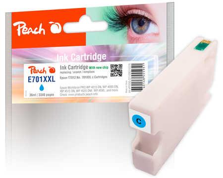 PI200-221 | Inkoustová náplň Peach kompatibilní s T7012, azurová (cyan)
