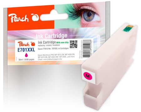 PI200-222 | Inkoustová náplň Peach kompatibilní s T7013, purpurová (magenta)