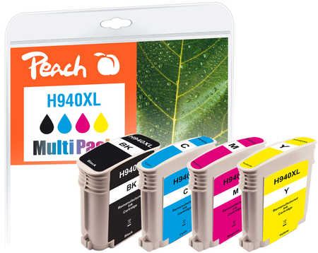 PI300-340 | Peach Multi Pack kompatibilní s HP No 940XL, s čipem