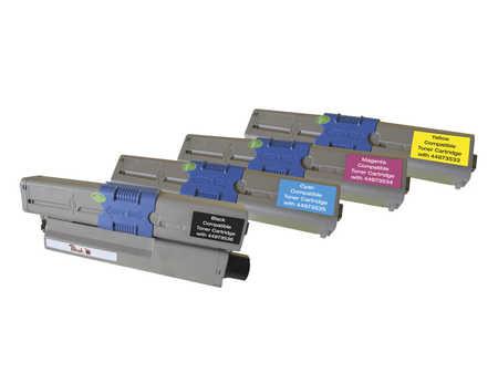 PT357 | Peach Combi Pack kompatibilní s OKI 44968301