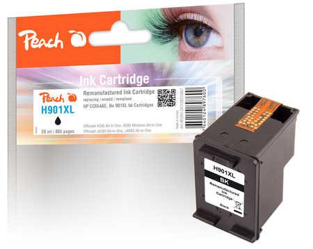 PI300-247 | Peach HP 901XL (CC654AE) inkoustová náplň černá (black)