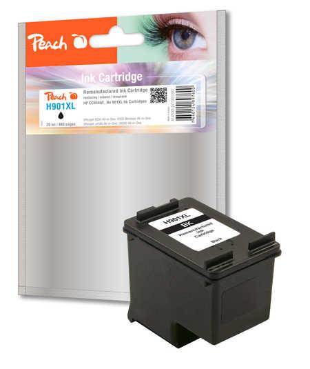 BULK HP 901XL (CC654AE) inkoustová náplň černá (black)