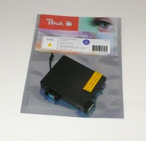 Peach čistící kazeta žlutá, kompatibilní s Epson T0554