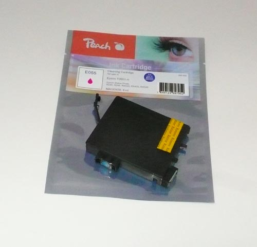 Peach čistící kazeta purpurová (magenta), kompatibilní s Epson T0553