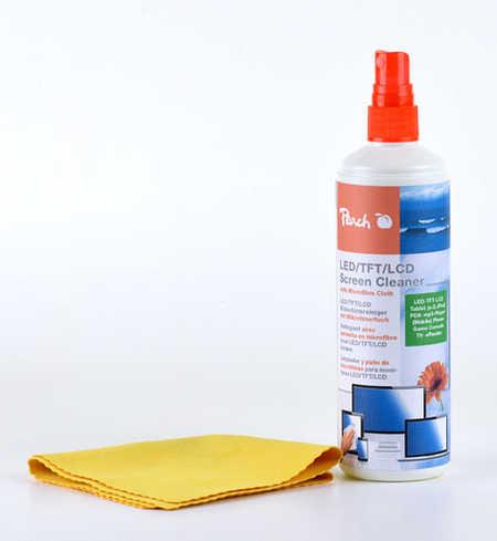 PA104 | Peach Screen čistící sprej + Čistící hadřík z mikrovlákna, 250ml