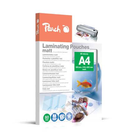 S-PP580-22 | Peach Laminovací fólie A4 (216x303mm) - 80 μm (50/30) - matná