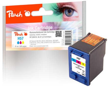 Peach Hewlett Packard HP č 57 (C6657A, H57, No57, HP57,PI300-13) barevná (color)